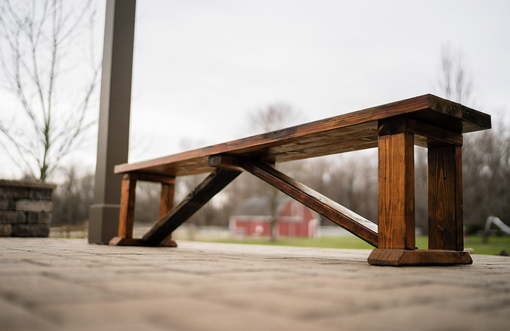 Custom Made Barnwood Benches