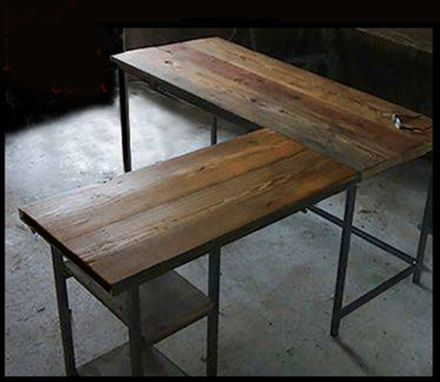Custom Made L-Shape Desk