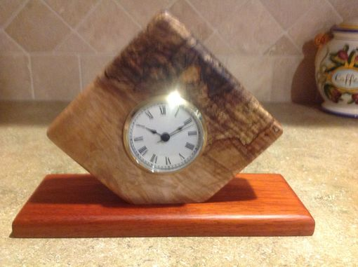 Custom Made Custom Mantle Or Desk Clock