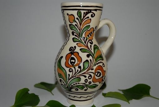 Custom Made Tall Handmade Ceramic Vase