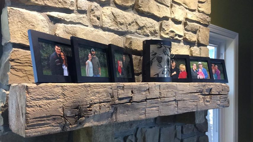 Buy Hand Made Reclaimed Barn Beam Mantles, made to order ...