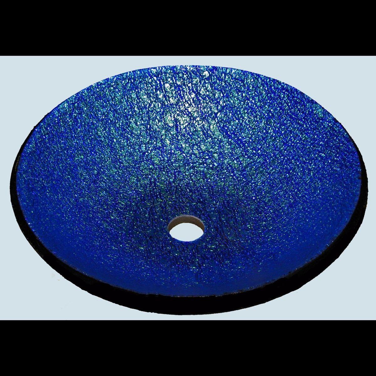Custom Dichroic Glass Vessel Sink by Stouffer Studios - Art Glass ...