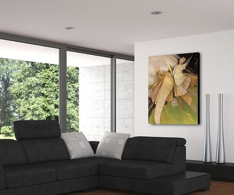 Custom Made Original Artwork For Contemporary Home