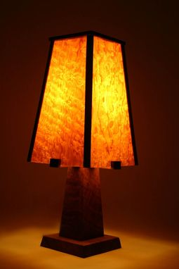 Custom Made Arts And Crafts Lamp