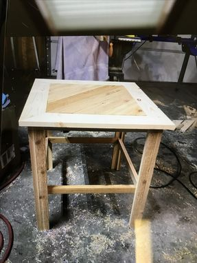 Custom Made Handmade End Tables