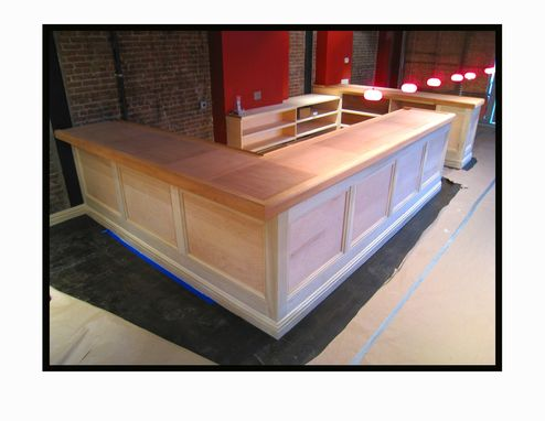 Custom Made Restaurant Bar