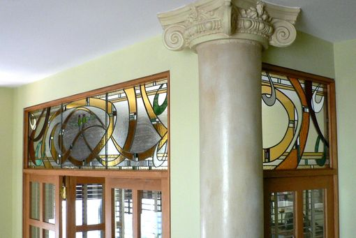Custom Made Interior Transom