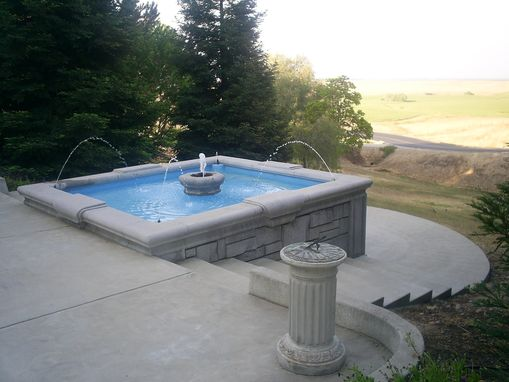 Custom Made Driveway Fountain