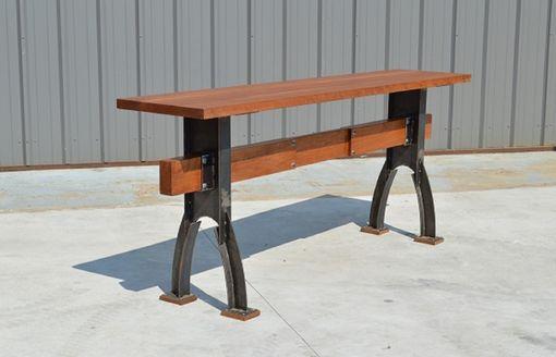 Custom Industrial Farmhouse Rustic Minimalist Bar Height