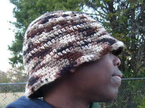 Custom Made Stylin' Hat For Men /Camoflauge