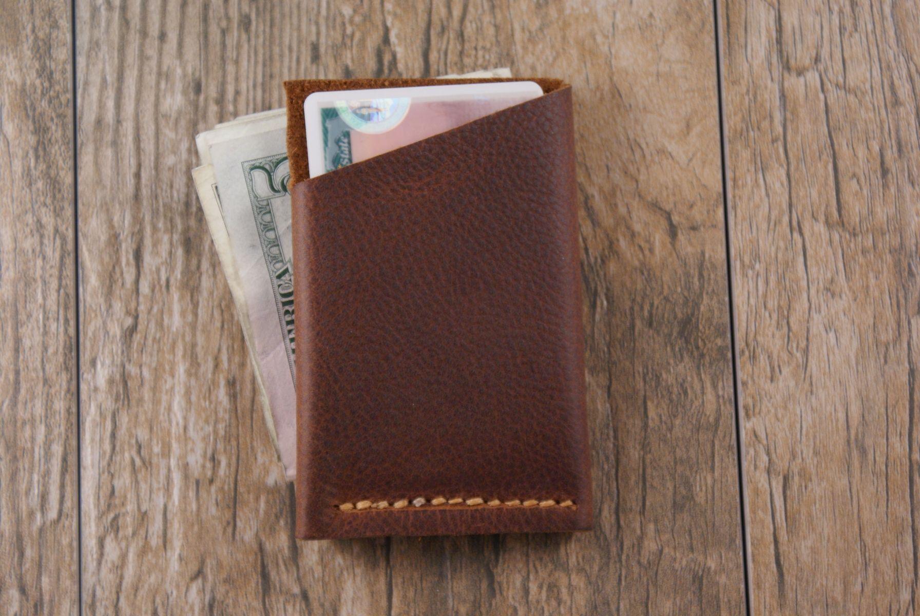 Custom Made The Slider Minimalist Wallet Card Holder In