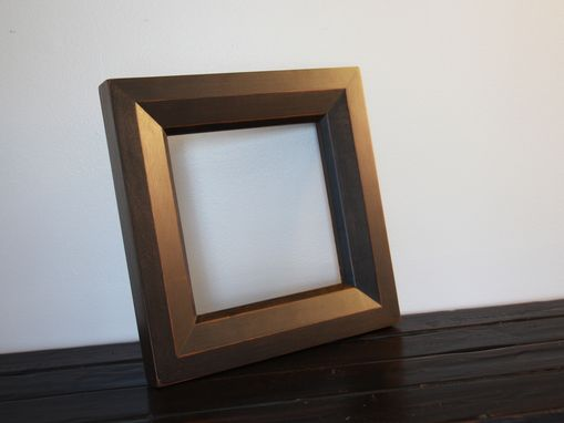 Custom Made Oversize Cherry Beveled Picture Frame/ Mirror Frame