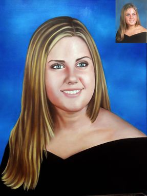 Custom Made Custom Oil Portrait Painting On Stretched Canvas From Your Photo - Hand Painted