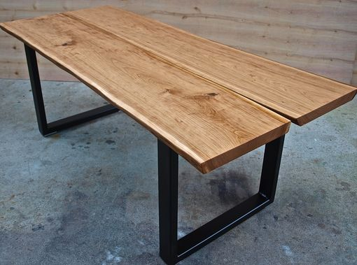 Custom Made Live Edge Cherry Coffee Table