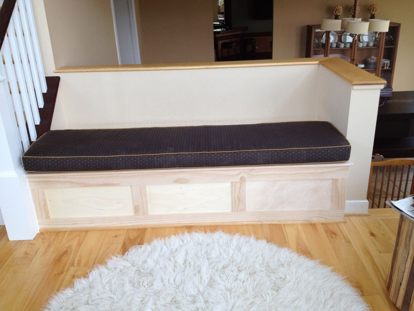 Handmade Storage Bench By Natural Woodworks Custommade Com