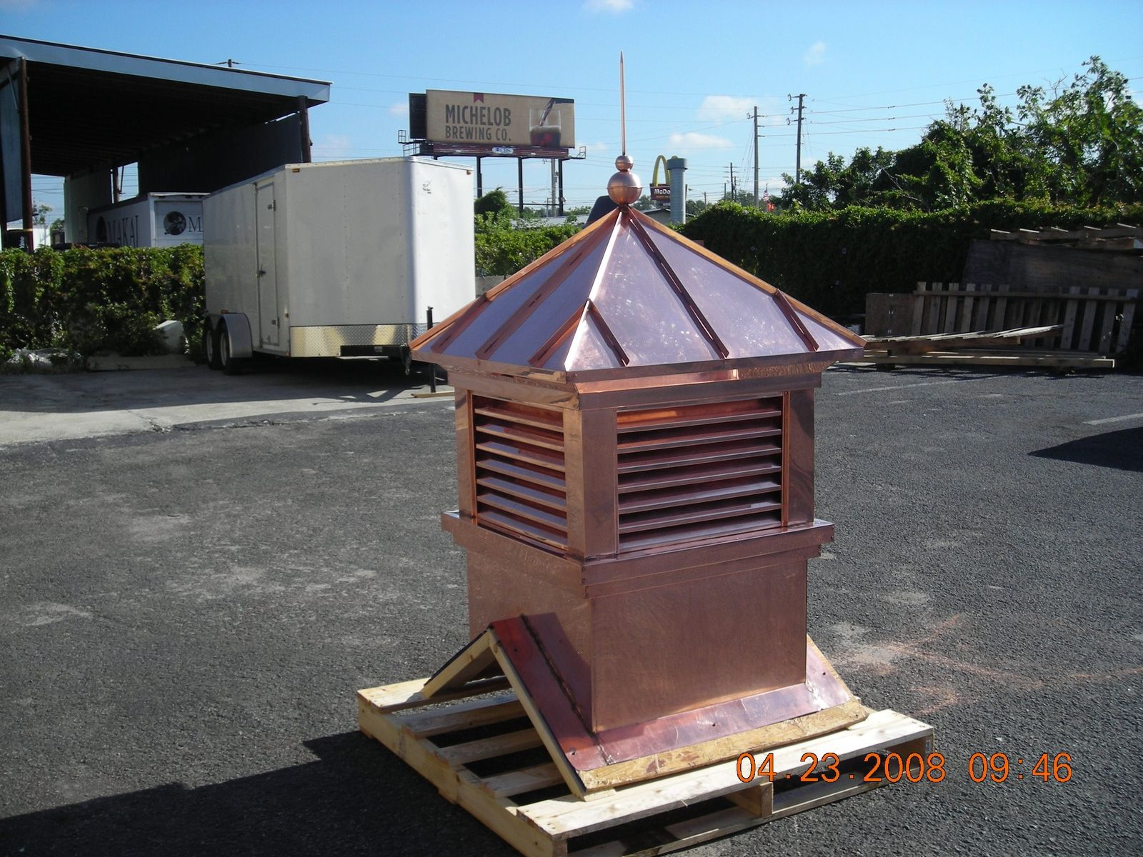 Handmade Custom Copper Cupola By Ejmcopper Inc