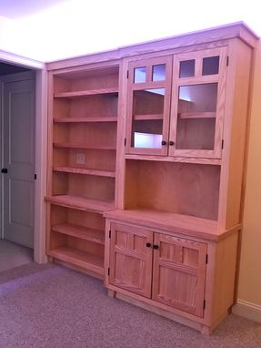 Custom Made Ash Home Office