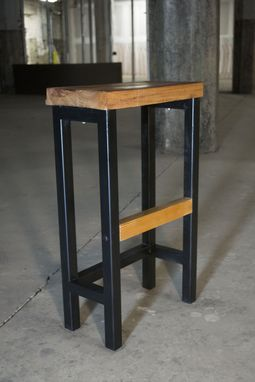 Custom Made Set Slim Steel Stool (4)