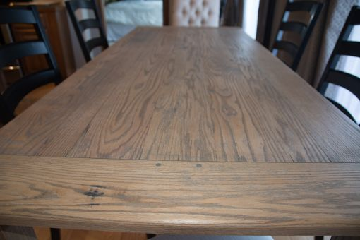 Custom Made Oak Harvest Table