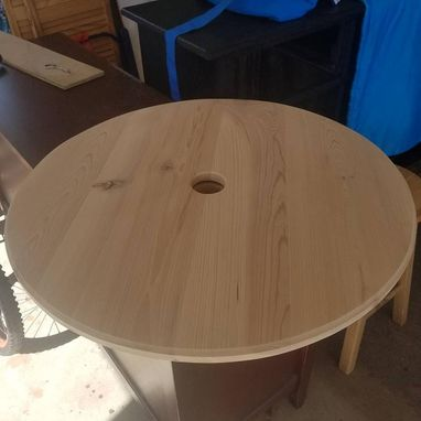 Custom Made Cypress Lazy Susan