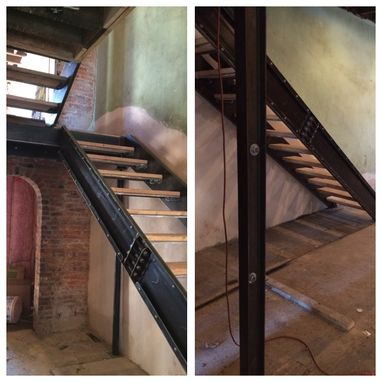 Custom Made Custom Steel Staircases