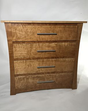 Custom Made Curly Cherry Dresser