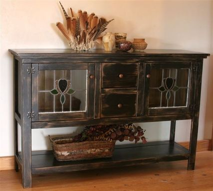 Custom Made Del's Sideboard