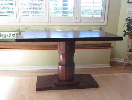Custom Made Cherry Pedestal Table