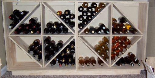 Custom Made Wine Rack Cube