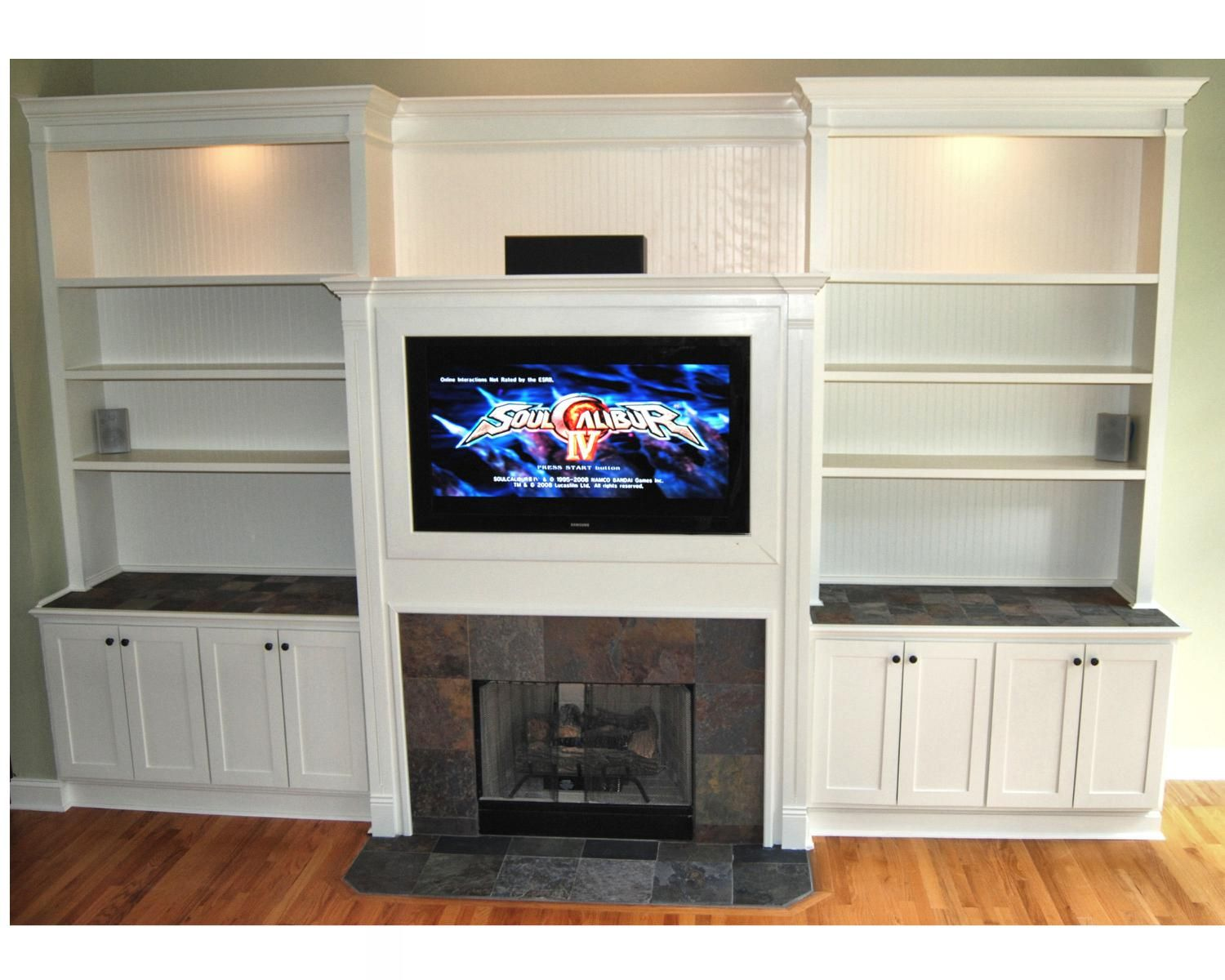 Handmade Entertainment Center By Dk Kustoms Inc