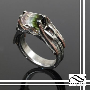 watermelon steampunk engagement ring - Steampunk Wedding Rings