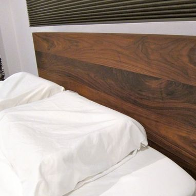 Custom Made Solid Walnut Platform Bed - Hand Crafted From American Black Walnut