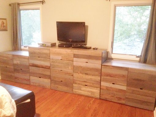 Custom Made Reclaimed Wood Dresser
