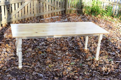 Custom Made Rustic Cypress Dining Table
