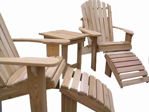 Adirondack Chair Kit Set