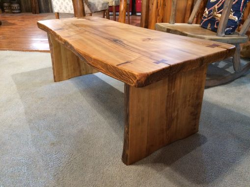 Custom Made Cypress Coffee Table