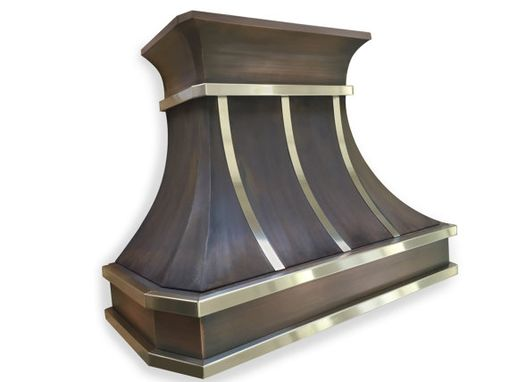Custom Made #80 Deluxe Copper Range Hood With