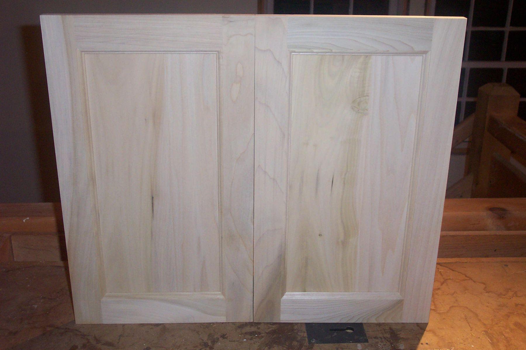 Handmade Custom Spec Cabinet Doors By Fineline Woodworking