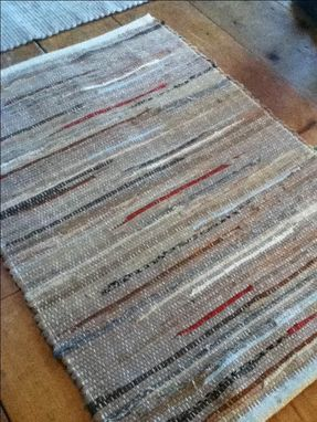 Custom Made Hand Dyed Wool Rug