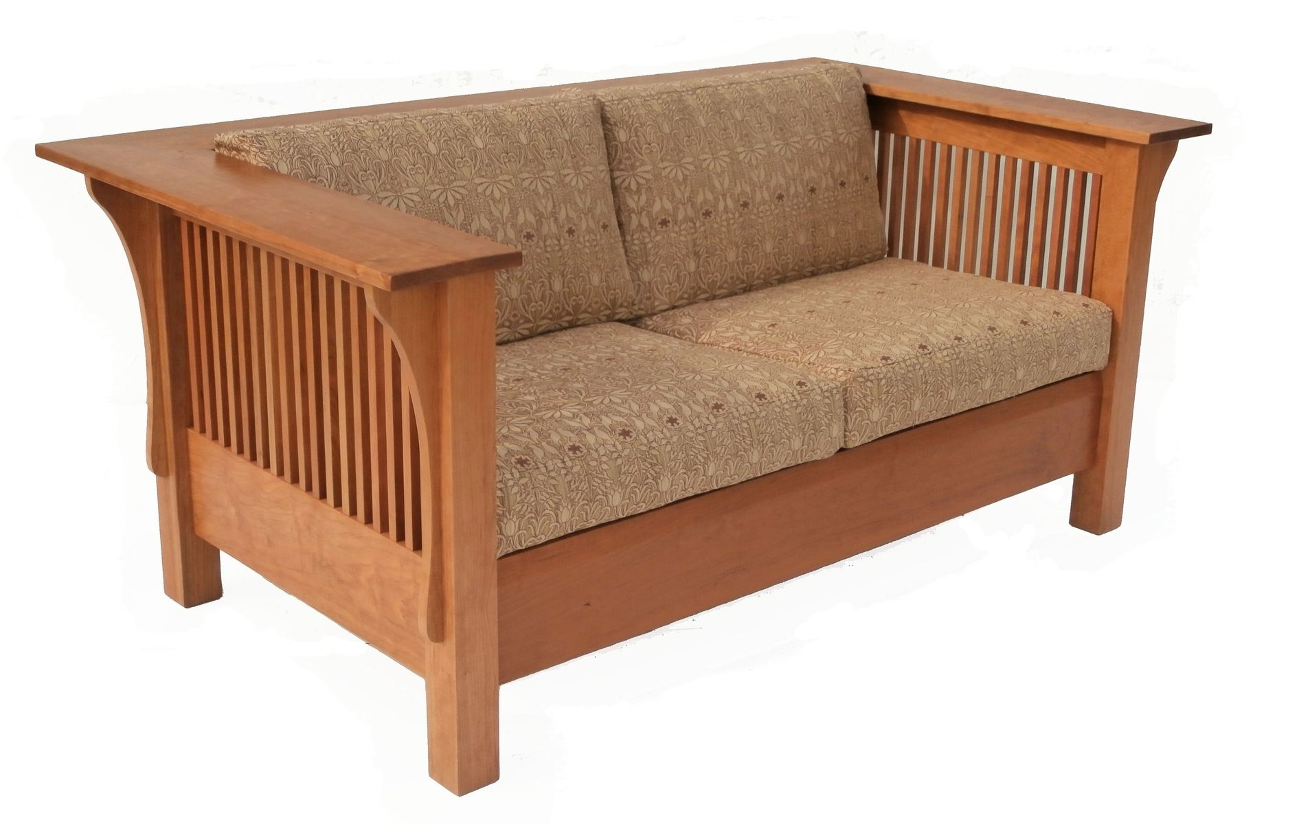 Buy Handmade Prairie Settle Cherry With Spindles Made To