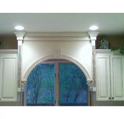 Custom Made Arch Window Valance
