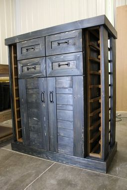 "Custom Made ""Wish"" Wine-Cabinet"