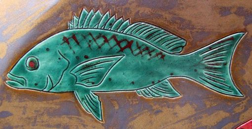 Custom Made Fish Plates, Platters And Tiles
