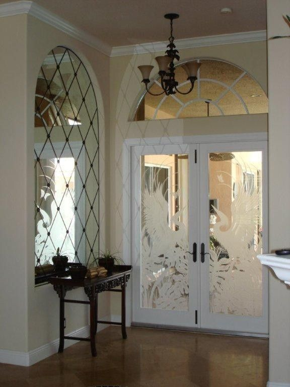 Hand Crafted Mirrors For Foyer Stairwell Mantles And