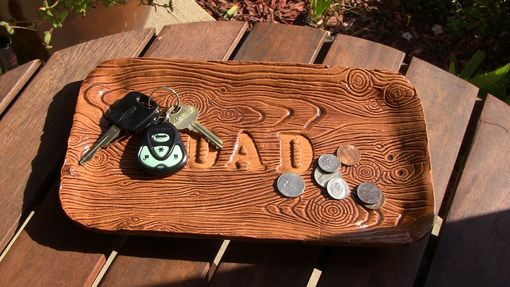 Custom Made Dad Letter Tray