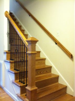 Custom Made Custom Oak Staircase