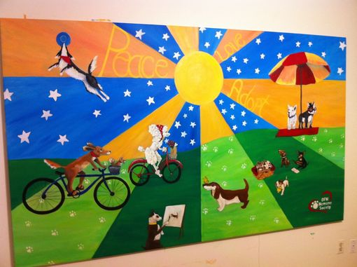 Custom Made Humane Society Mural