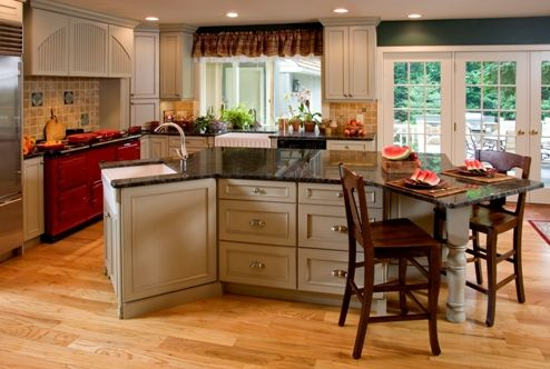 Custom Made Custom Kitchen Painted Cabinetry