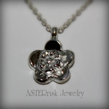 Custom Made Small Forget Me Not Necklace