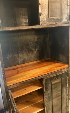 Custom Made Metal Hutch